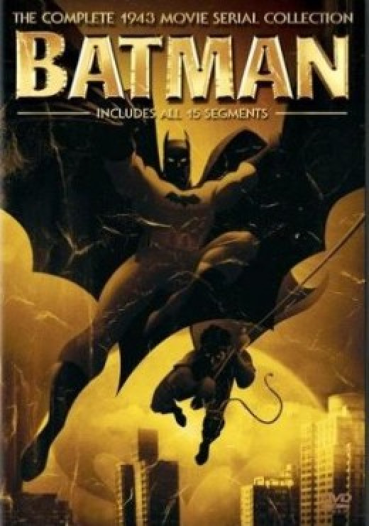 Batman 1943 Serial DVD Cover