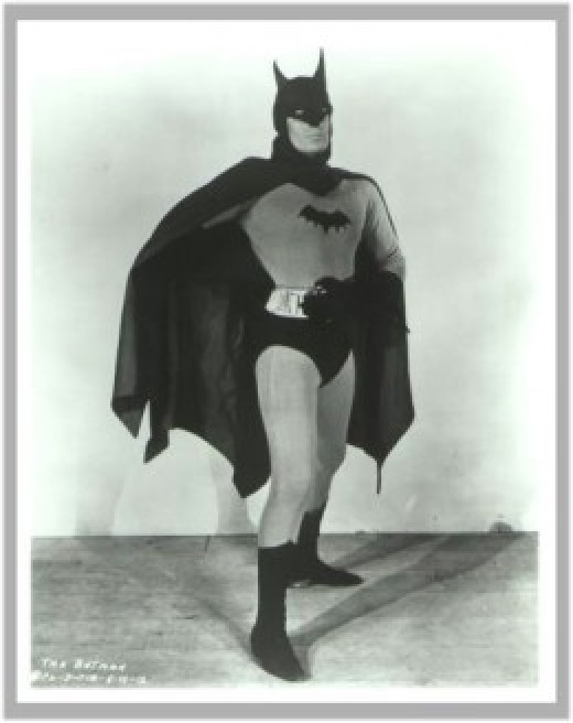 Lewis Wilson as Batman: Promotional Photo