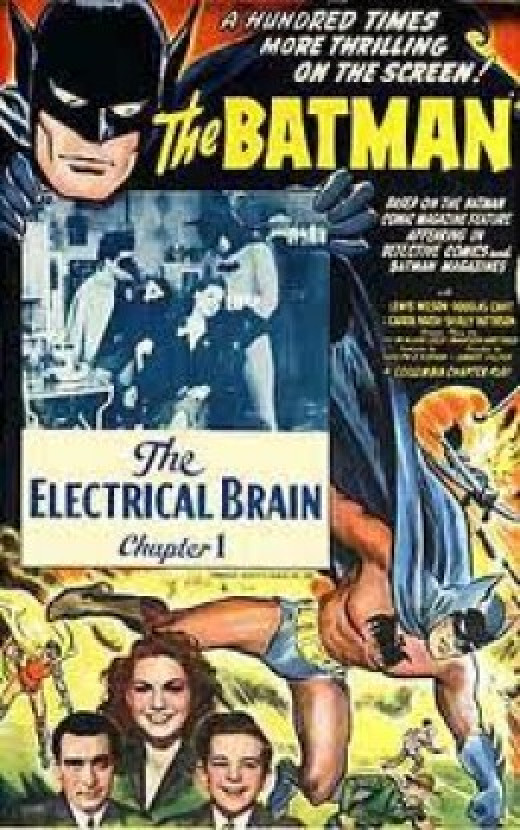 Original Batman 1943 Serial Movie Poster