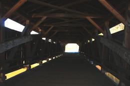Looking inside the bridge