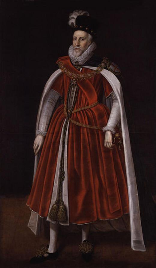 Charles Howard, Lord of Effingham, commander of the Royal Navy.
