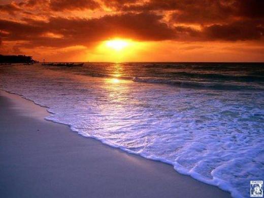 Amazing Caribbean Sunrise