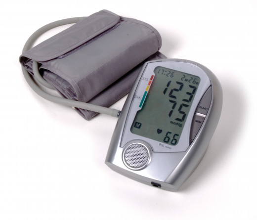 Home blood pressure device