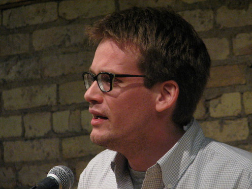 John Green, author of The Fault in Our Stars.