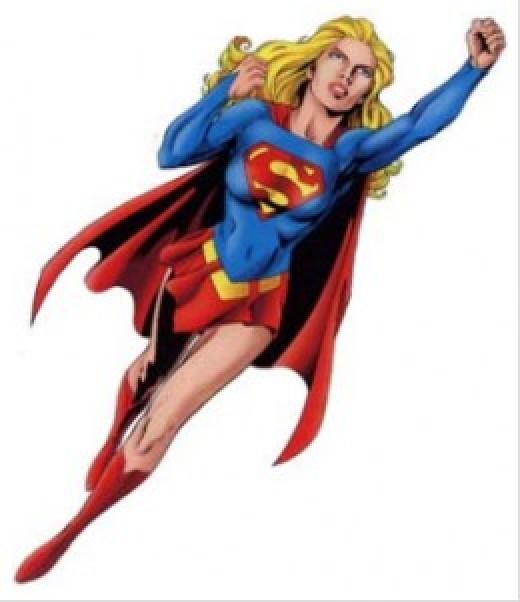 Classic Supergirl Costume