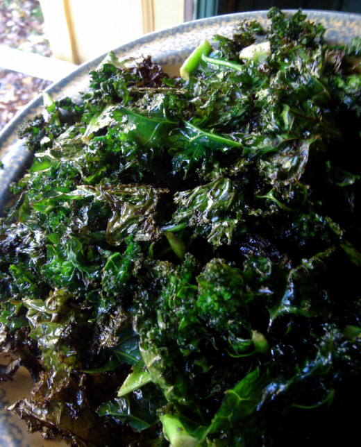 Kale is an excellent source of antioxidants, fiber, vitamins and minerals