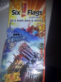 Reviews of Six Flags Roller Coasters