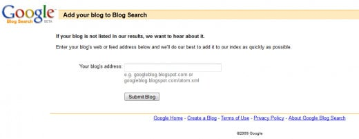 The vaunted Google Blog Search