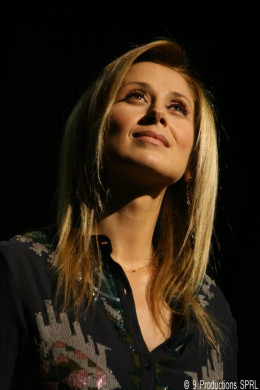 Lara Fabian performing in Paris. January 15th, 2012