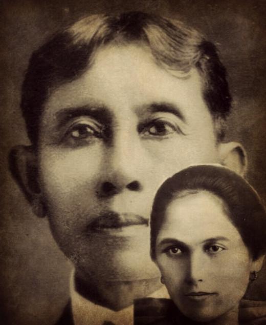 My great grandparents - Perfecto and Amalia