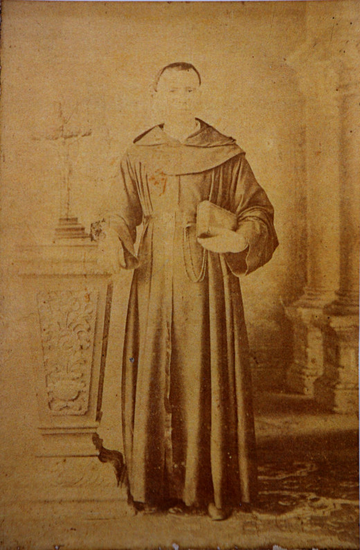 Great Great Grandfather - Dominican Friar Cordon