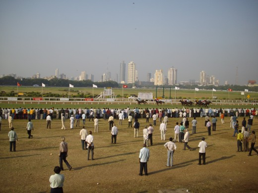 First enclosure grandstand grounds, the cheapest entrance tickets for the average punter or non member of the Turf club