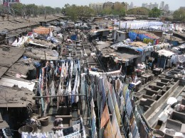 Dhobi Ghat, the open air laundry