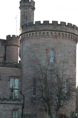 A brave Knight is one of the spirits said to haunt Dalhousie Castle Hotel.