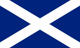 The Scottish Flag, the St Andrews Cross or Saltire