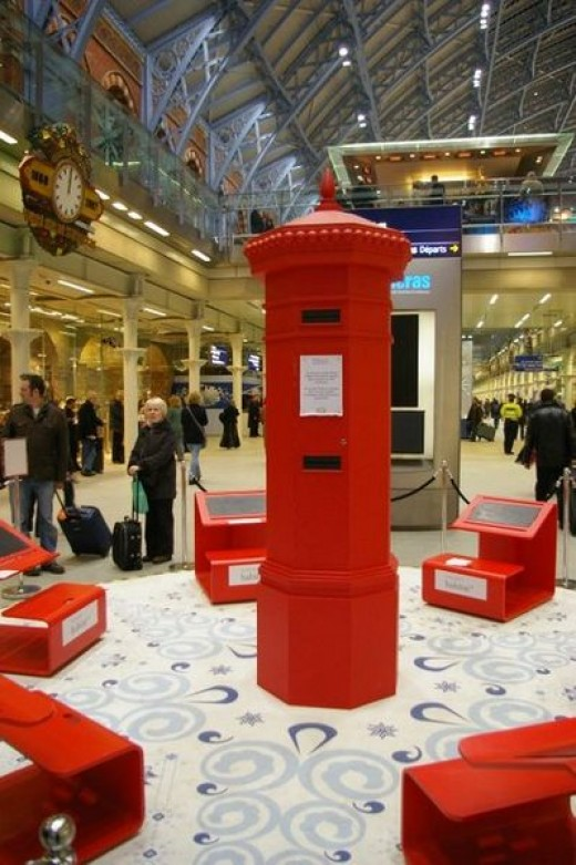 Next year to be safer I will try to persuade my children to use a postbox.