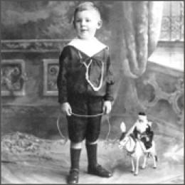 C. S. Lewis as a boy