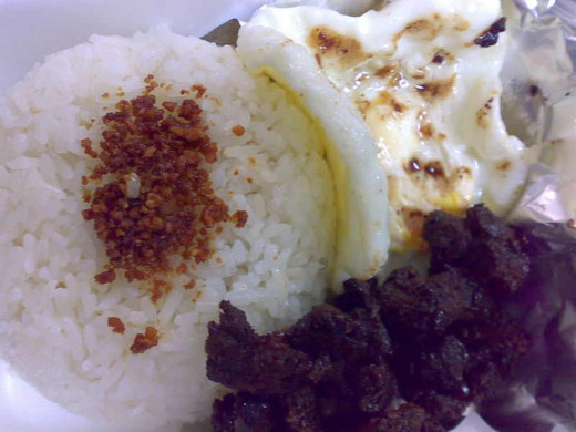 Beef Tapa with Egg