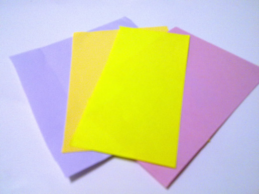 some color papers