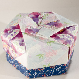 If you can't find a gift box to reuse, you can make one.