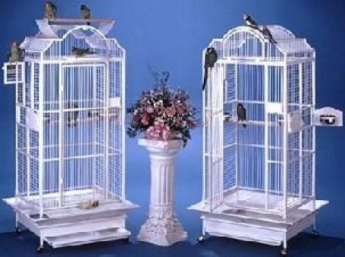 home made bird cages