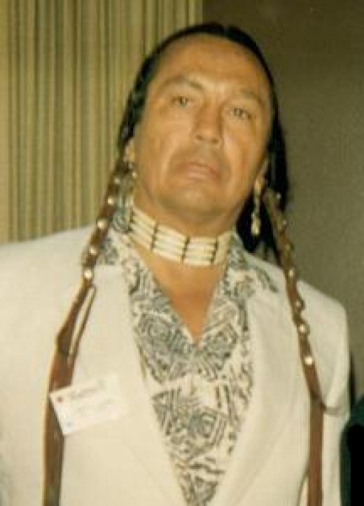 Russell Means in 1987