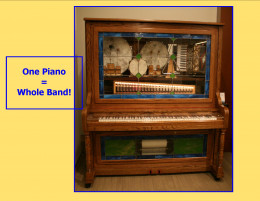 This is a one piano band.