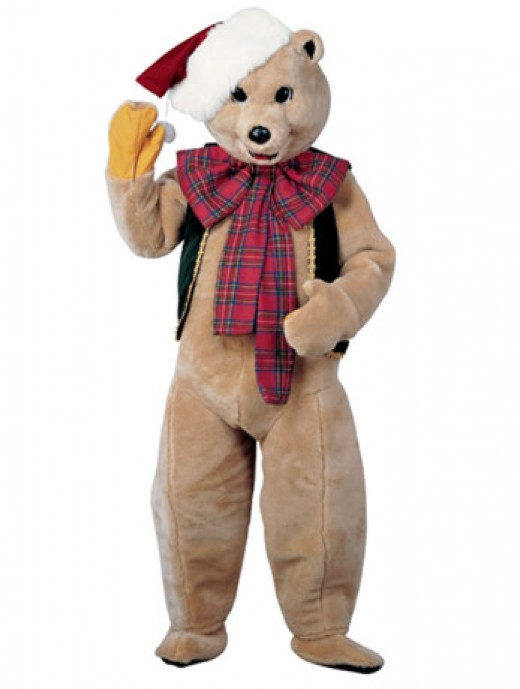 Christmas Bear Costume
