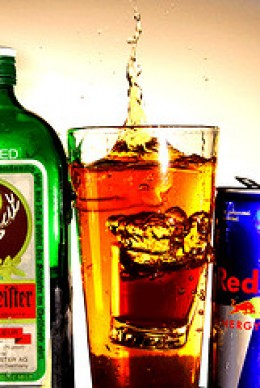 Jagerbomb Alcoholic Drink