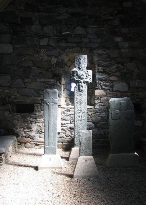 Early Christian crosses, Keills Chapel