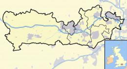 Map location of Berkshire, United Kingdom