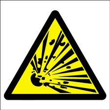 "CHEMICALS THAT EXPLODE:The abbreviation for this symbol is ""E"" and this symbol is associated with chemical's that explode"