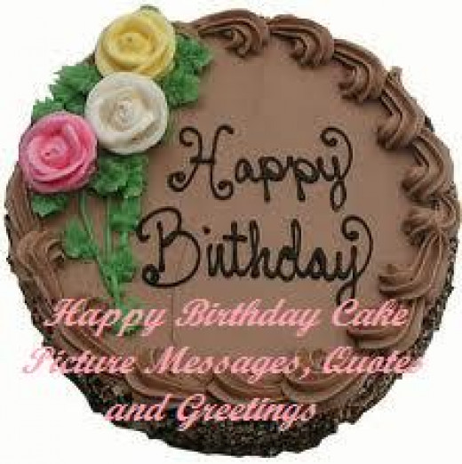 Happy Birthday Cake Picture Messages, Quotes and Greetings