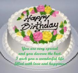 Birthday Cake Images And Quotes : Happy Birthday Cake Picture Messages, Quotes and Greetings