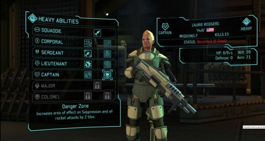 XCOM Enemy Unknown Heavy Class Soldier