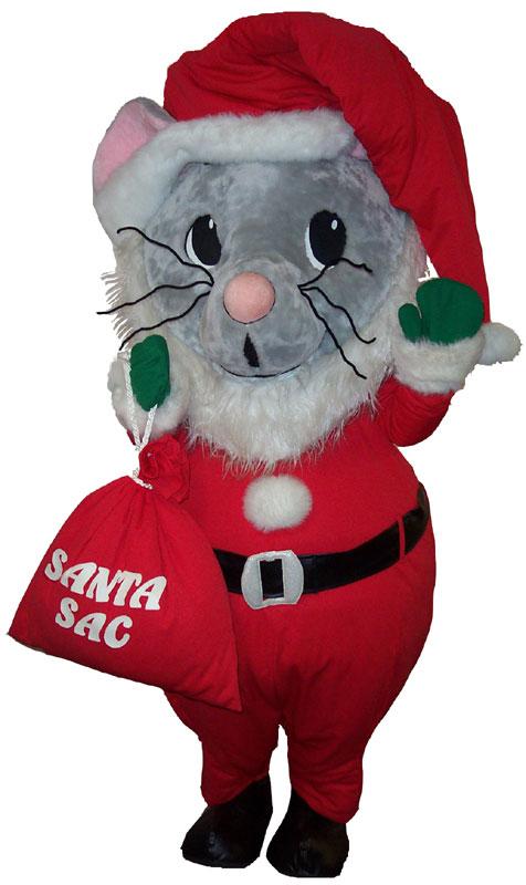 Santa Mouse Costume