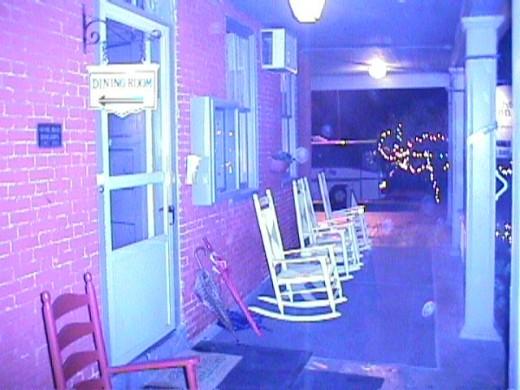 Cashtown Inn Front Porch