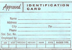Risk of ID theft