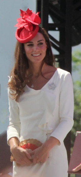 Kate Middleton, the current Duchess of Cambridge, in Ottawa for Canada Day in 2011.
