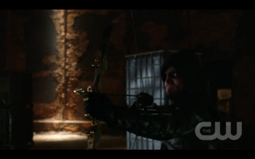 They still haven't called Oliver Green Arrow on this show.