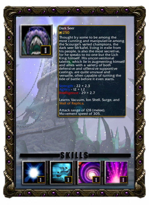 Ish'kafel the Dark Seer Profile