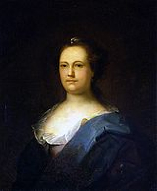 Deborah Read Franklin, wife of Ben Franklin