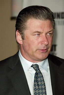 Picture of Alec Baldwin in slicked back Hairstyle