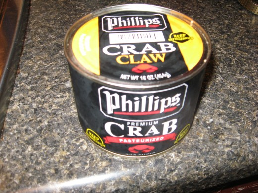 Canned Crab Meat - the refrigerated kind