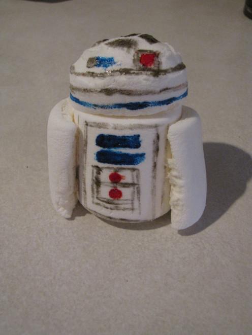 R2D2 is born!