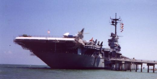 USS Lexington now a  Museum Ship