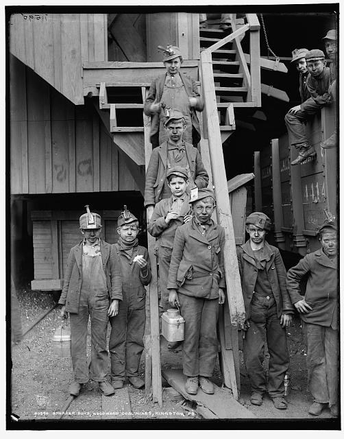 Breaker boys, Woodward Coal Mines, Kingston, Pa.