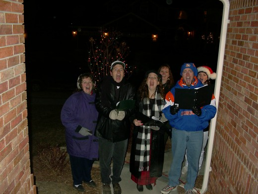 If You See These Carolers at Your Door - They Most Likely Need Cookies