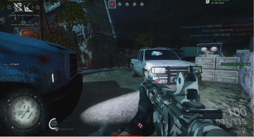 "This is a screenshot taken from in-game footage of the game ""Medal of Honour Warfighter""."
