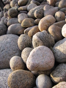 Rocks of all shapes